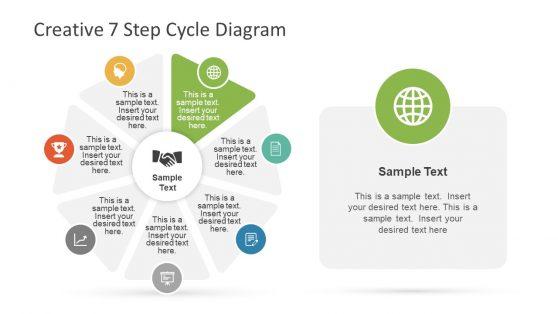 Creative Template Triangular Shape Diagram