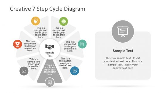 Editable Infographic 7 Step Cycle