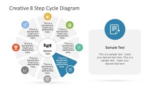 Document Infographic PowerPoint Slide