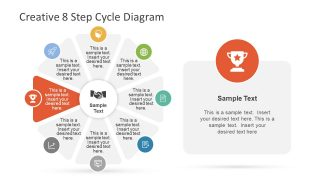 Achievement Stage of PowerPoint Diagram