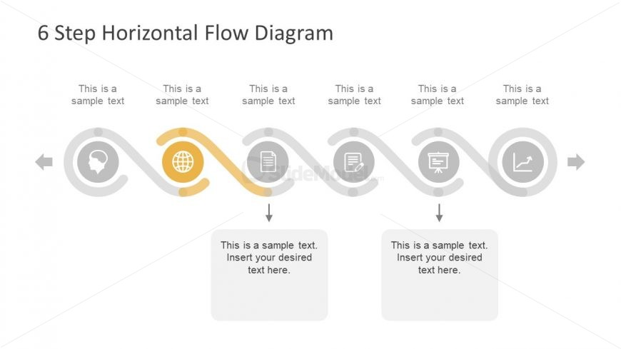 Professional Presentation Process Flow Diagram