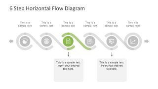 Creative Design of Horizontal Diagram