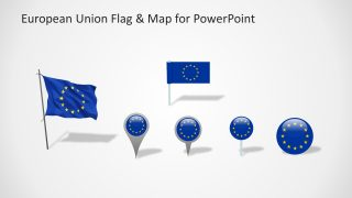 Flags and Location Pins Slide