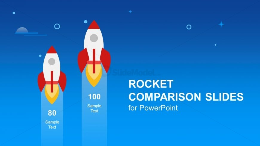 Rocket Launch Vector Design Graphics