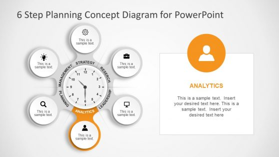 Analytics Stage of Planning Concept Slide