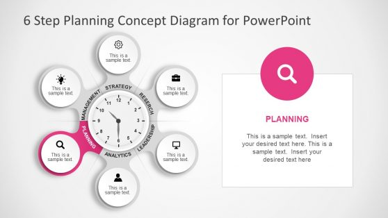 Infographic 6 Step PowerPoint Template
