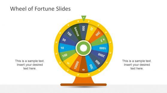 Colorful Wheel Illustration Segments