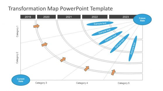 Simple Transformation PowerPoint Map