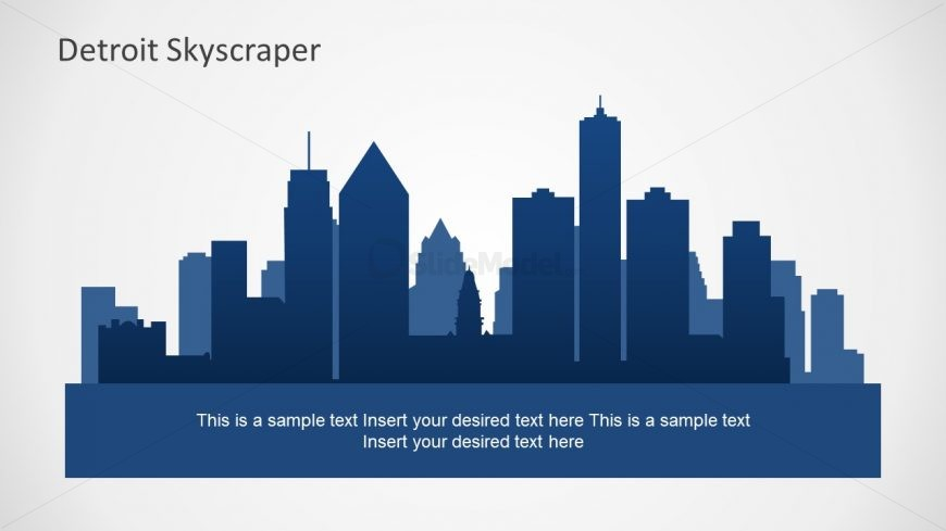Editable View of Buildings Presentation