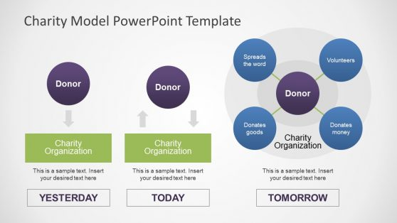 PowerPoint Shapes for Charity Model