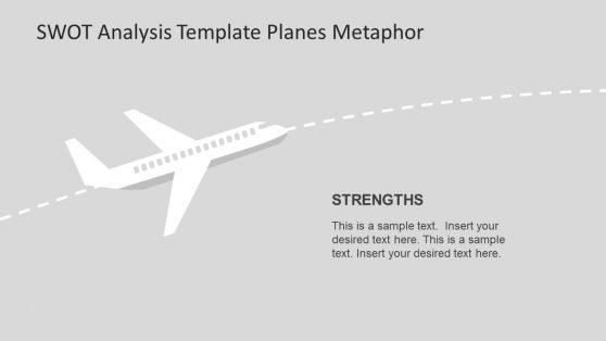 PPT SWOT Analysis Template Diagram