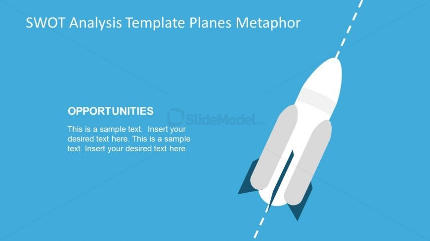 Editable Template of Opportunities with Space Rocket