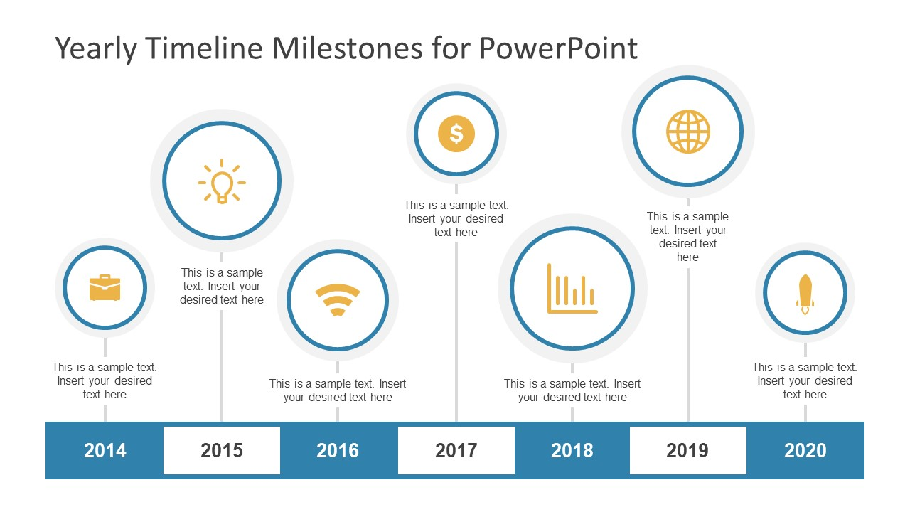 Editable Timeline Templates For PowerPoint - Planning timeline template