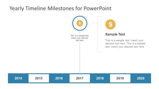 Timeline Template for Financial Forecasting