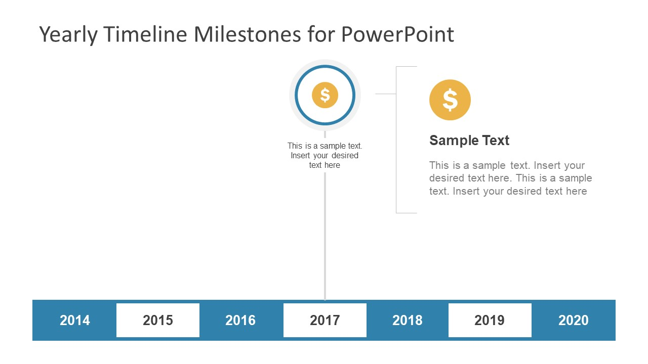 Yearly Statistical Analysis Timeline Template