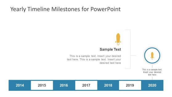 Editable PowerPoint Diagram of Timeline