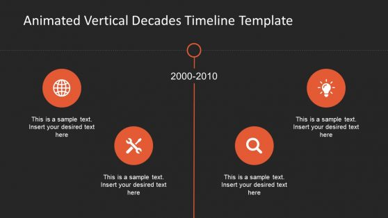 3 Phase Infographic Template Timeline