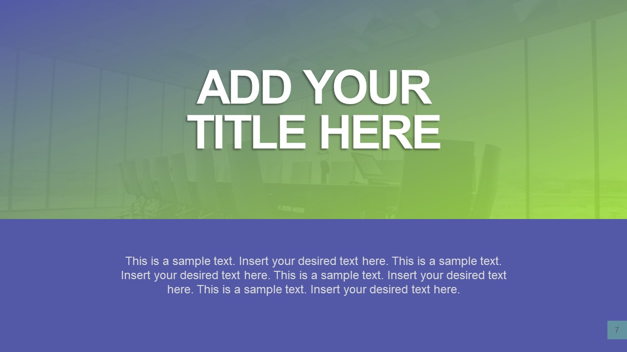 Two Content Simple Template Layout