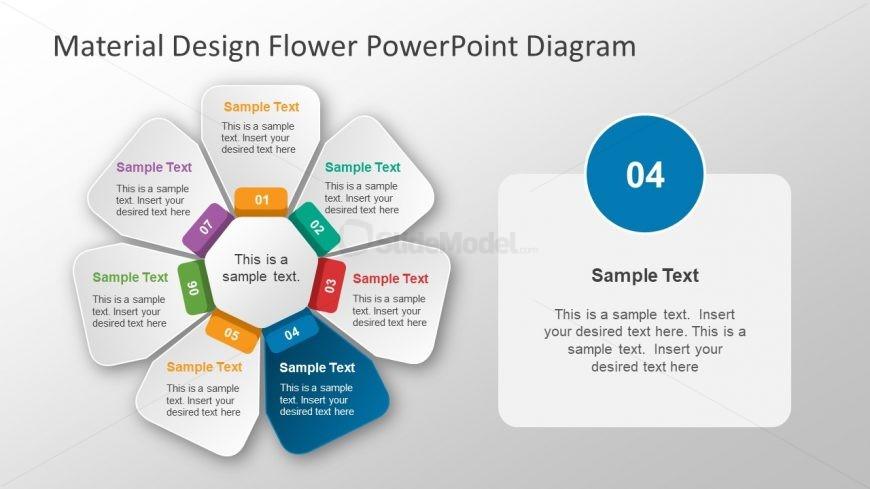 Flower Petal Segments Design