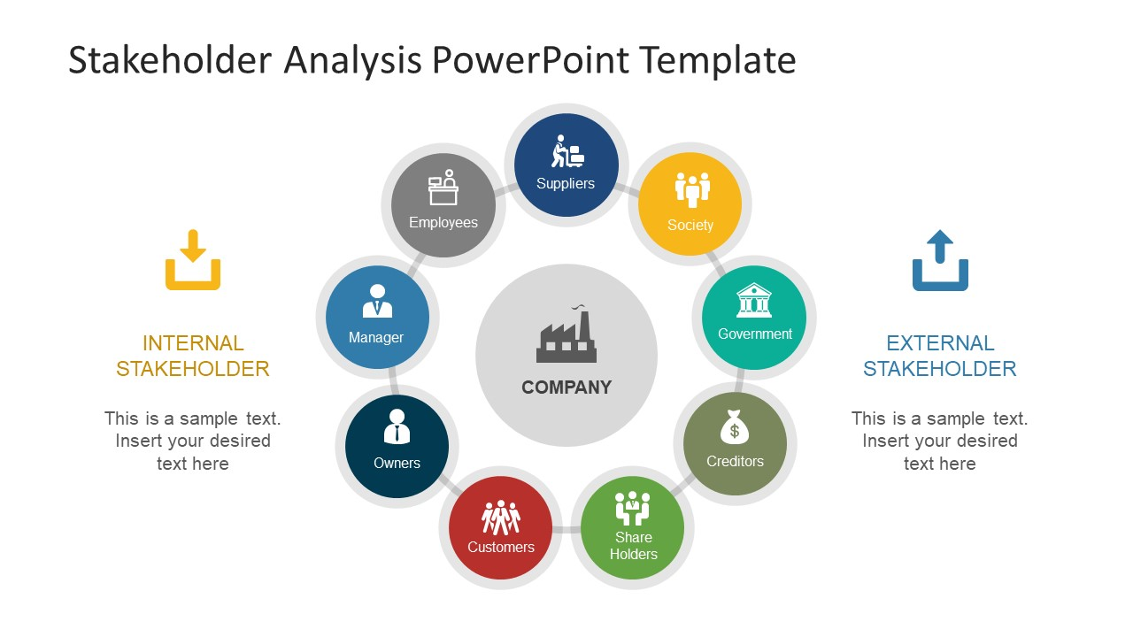 Stakeholder analysis powerpoint template slidemodel stakeholder analysis powerpoint template type of entity for stakeholder analysis toneelgroepblik Choice Image