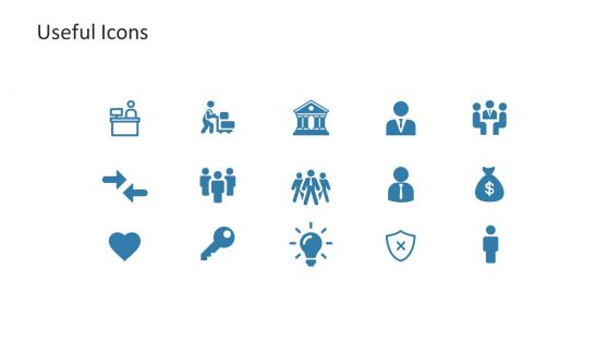 Useful PowerPoint Icons Slide