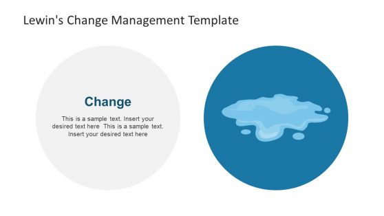 PowerPoint Shape for Change Management Stage