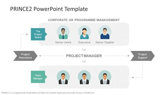 Template of Programme and Project Managers