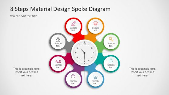 8 Step Infographic Circular Diagram