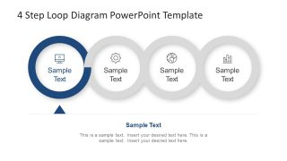 Creative PowerPoint Presentation of Loop