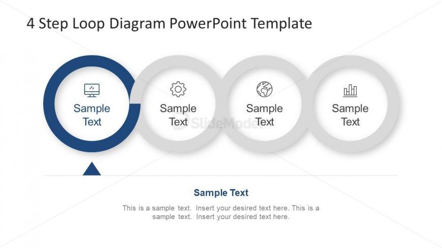 Creative PowerPoint Presentation of Loop