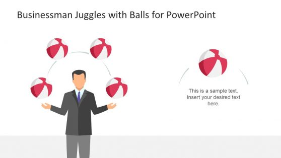4 Step Juggle Slide Template