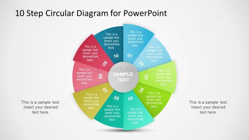 10 step circular flow diagram ppt slidemodel 10 step circular flow diagram ppt ccuart Images
