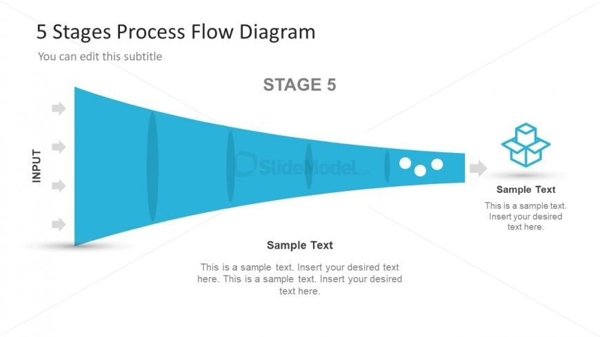 Useful Funnel Diagram PowerPoint Process Flow