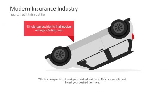 Damage Car Accident PowerPoint