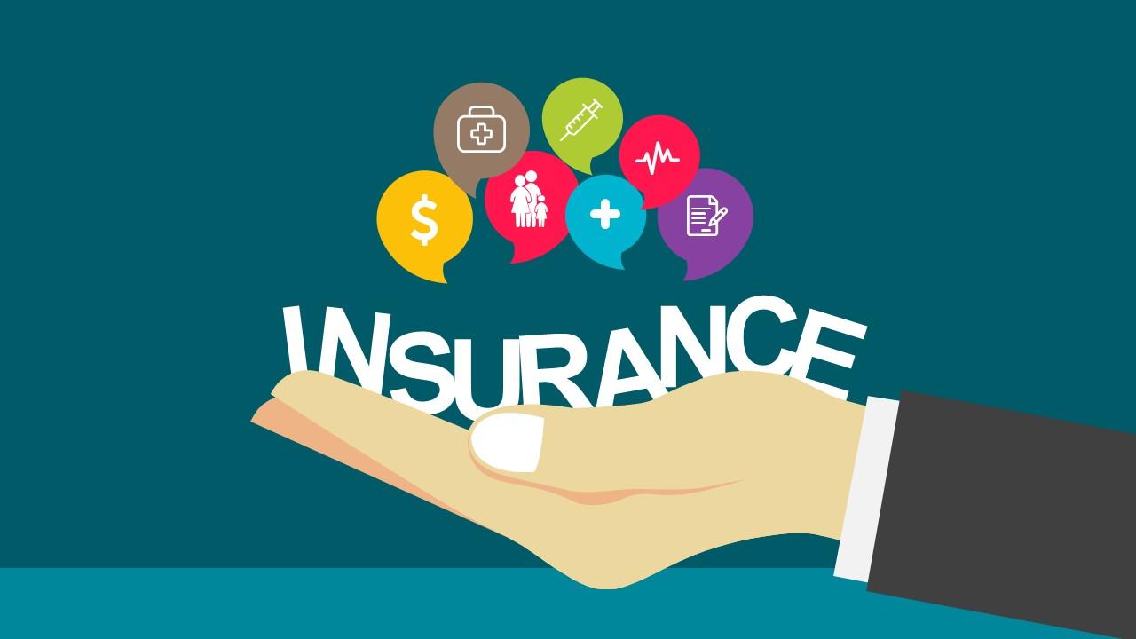 Modern Insurance Industry PowerPoint Template - SlideModel