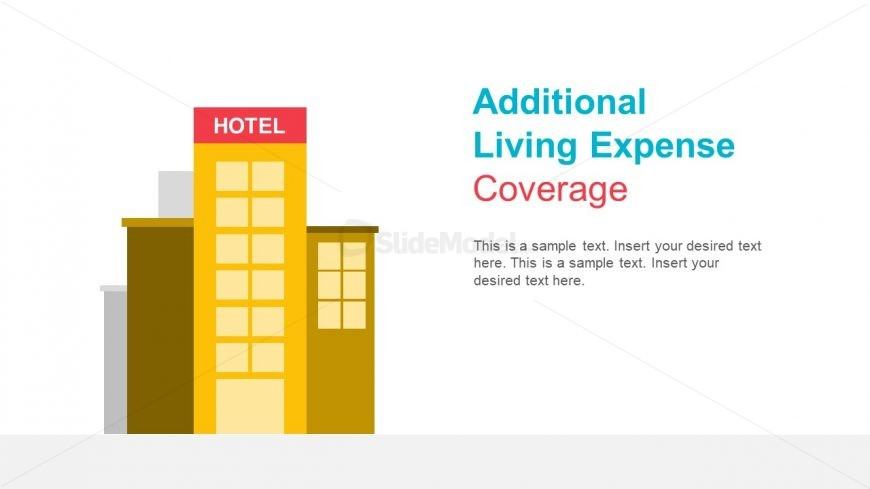 Hotel Building Illustration for Finances