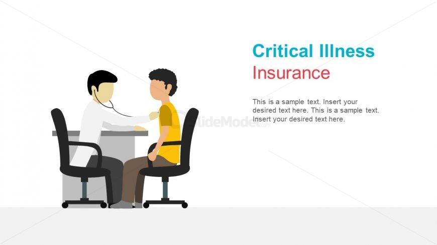 Doctor Checkup Slide Illustration
