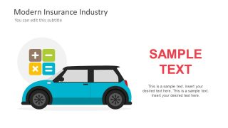 Slide of Coverage for Car Insurance