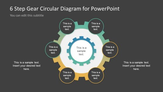 Presentation of Circular Process with Gear