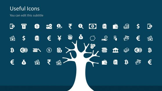 Useful PowerPoint Icons for Money