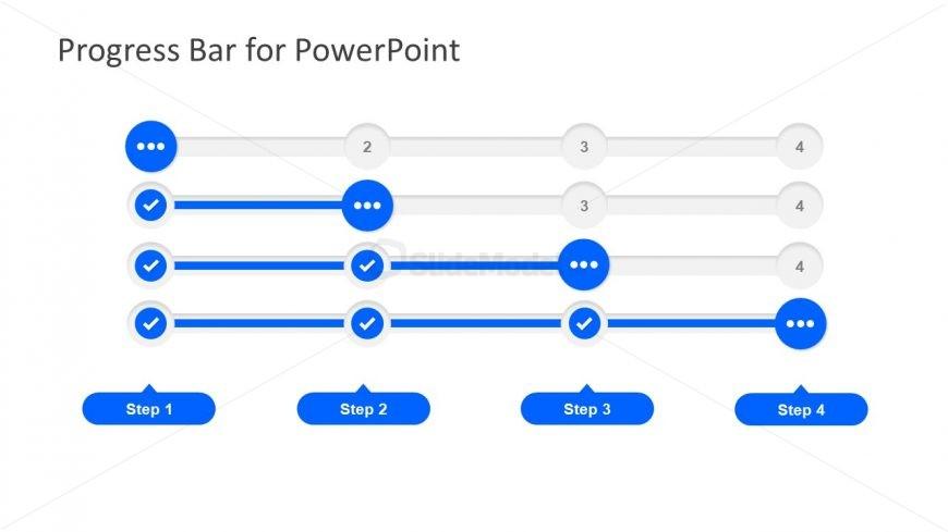 Blue Theme Tube Progress Bars