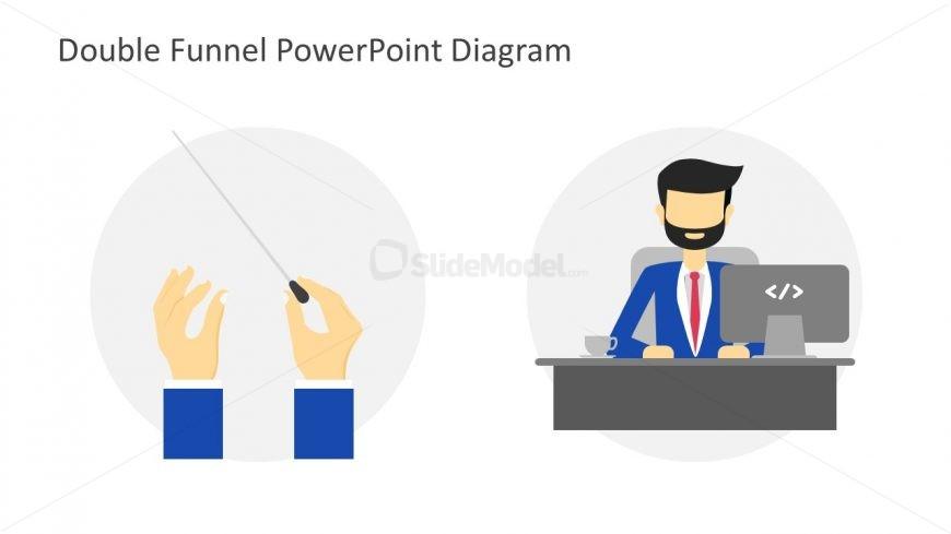 HTML Tage Illustration of Worker