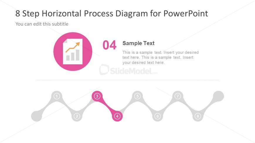 Process for Trend Analysis Pink Shape