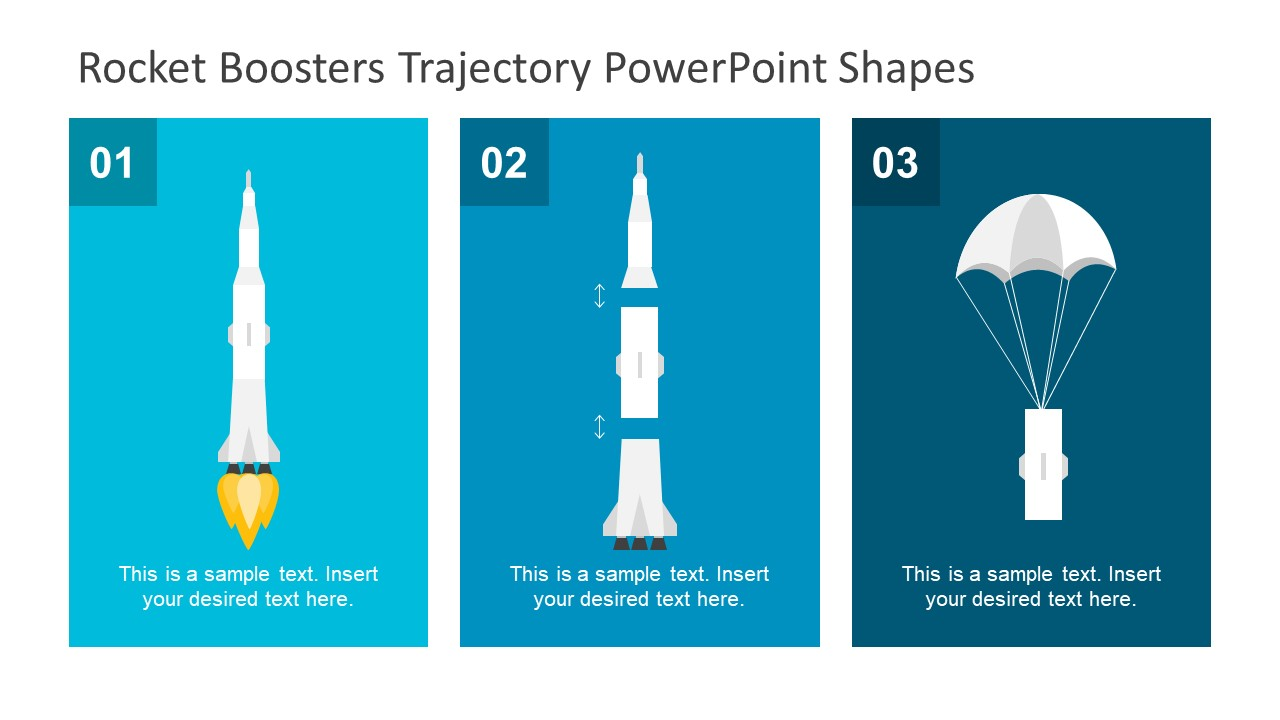 Templates of Rocket Booster Trajectory