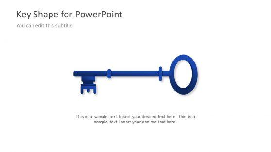 PowerPoint Vector Shape Key Concept
