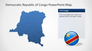 Congo Map of Provinces PPT