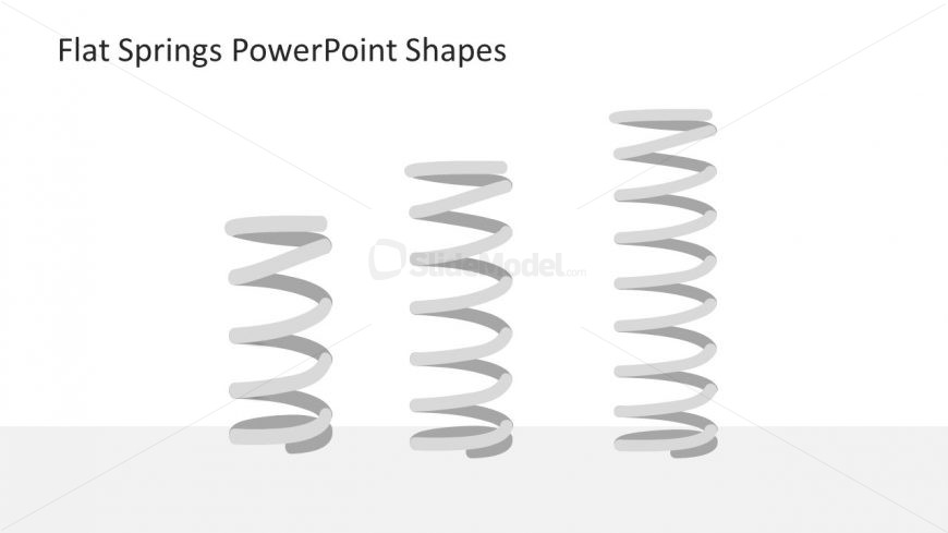 slide of spiral springs clipart