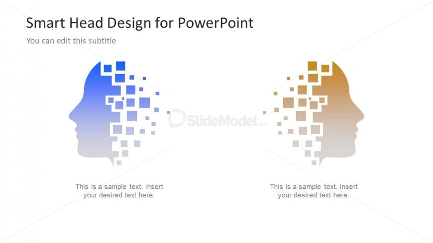 Gradient Clipart Shapes Technology Template