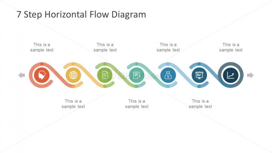 Diagram Template of Circular Infographics