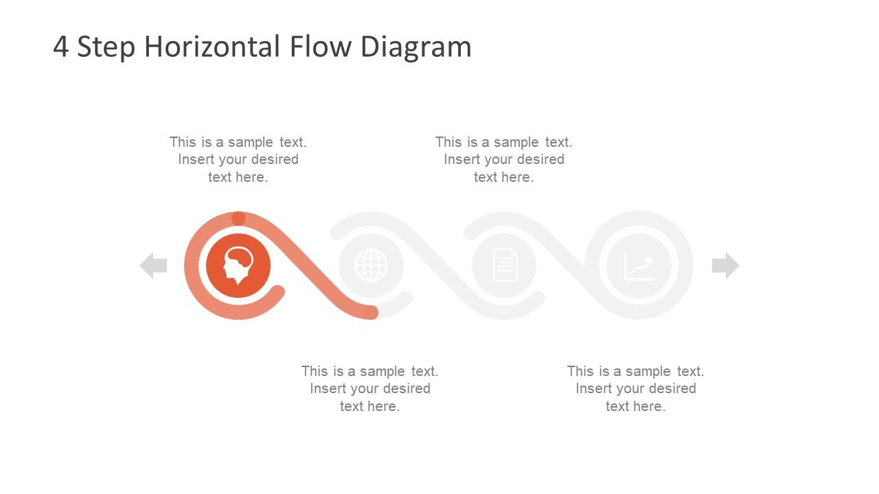 Diagram Design of Horizontal Timeline